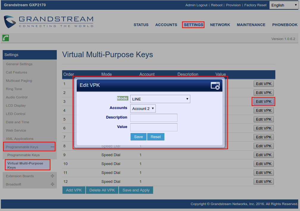 Virtual Multi-Purpose Keys