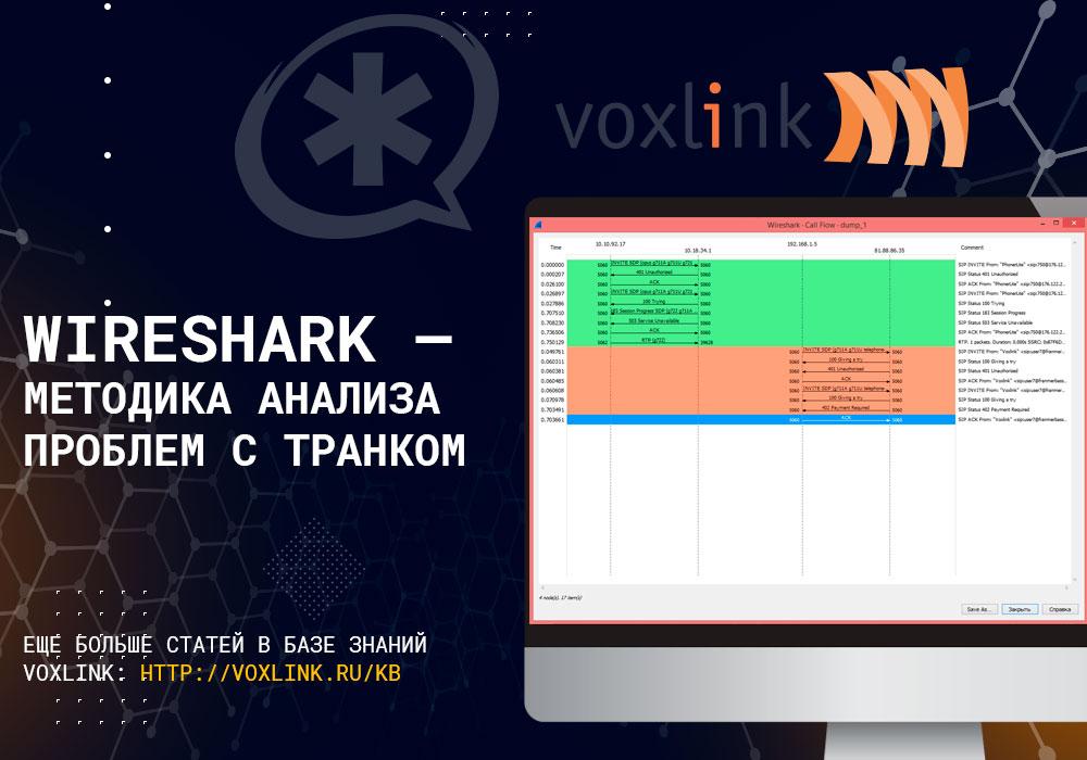 Wireshark и проблемы с транком
