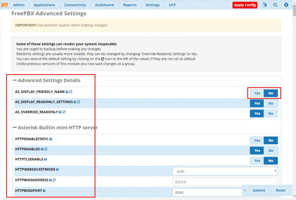 Обзор advanсed settings FreePBX 13 – Voxlink