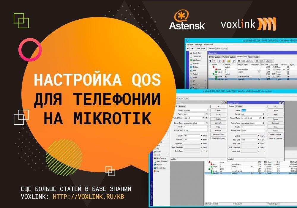 QOS для телефонии на MikroTik