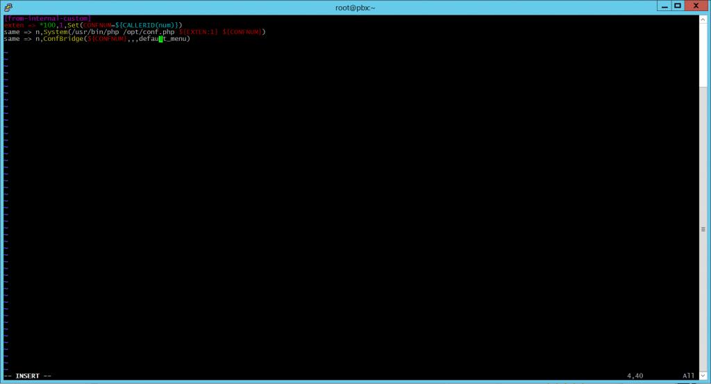 Диалплан в extensions_custom.conf