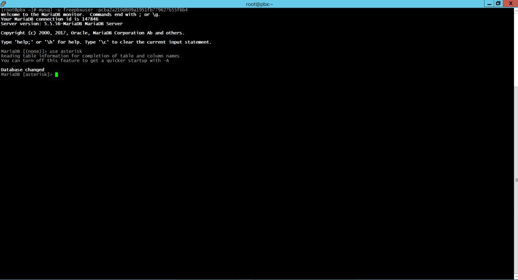 Подключение к MySQL и выбор нужной базы данных.