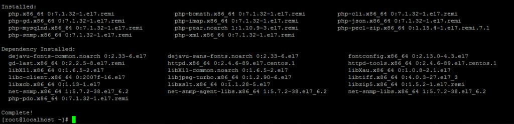 Установка PHP зависимостей