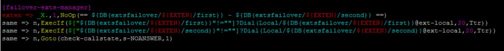 Для наглядности ниже приведу контекст переадресаций.