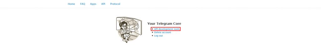 Личный кабинет Telegram