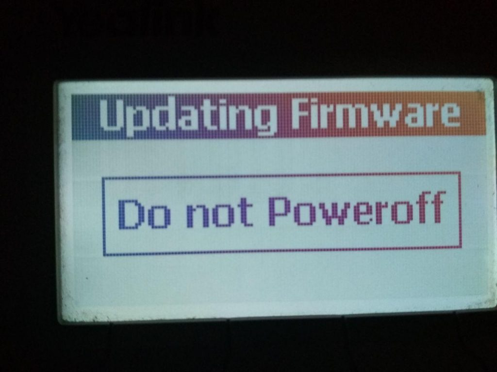 Do not Poweroff