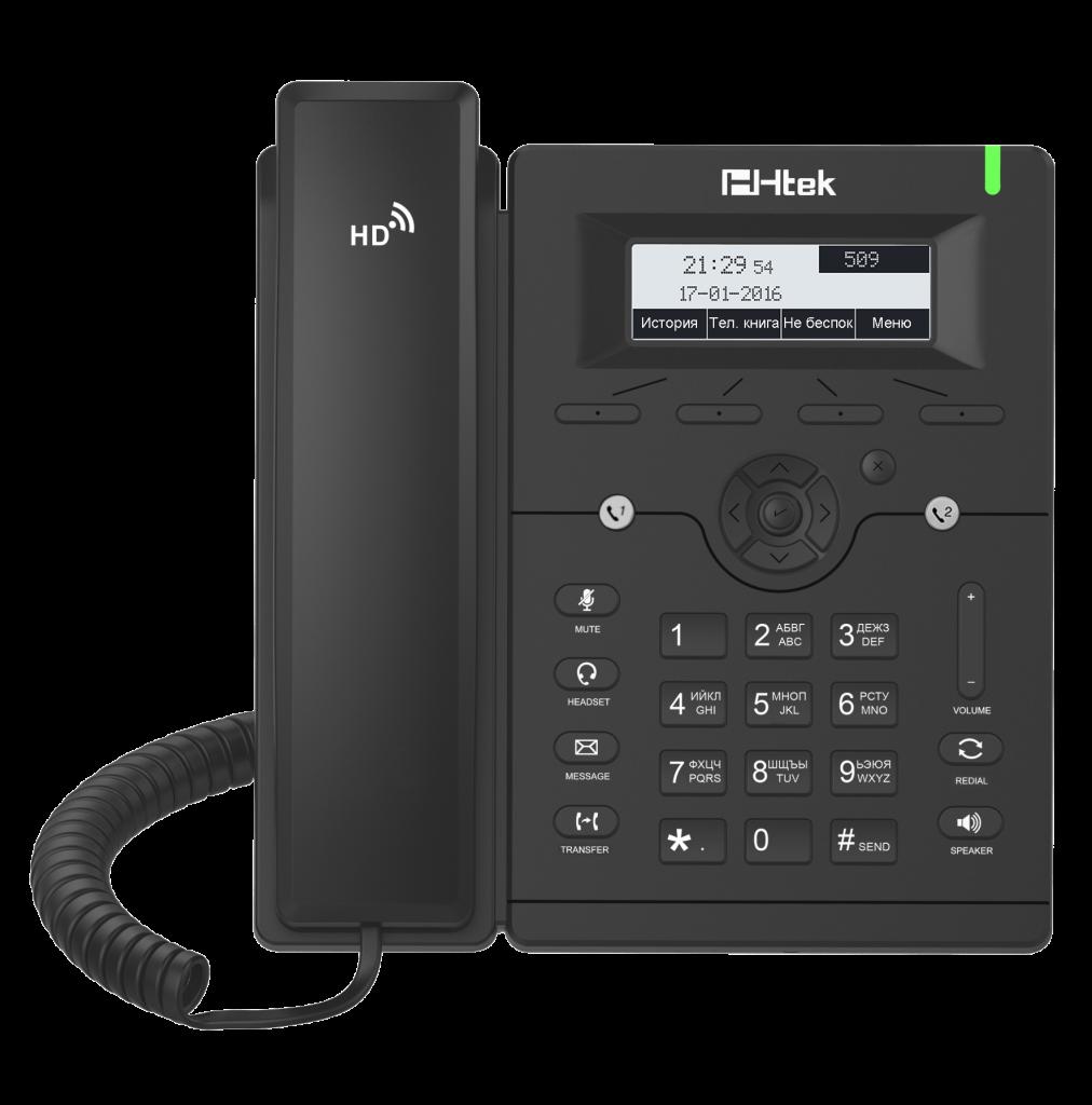 внешний вид IP-телефона Htek UC902P