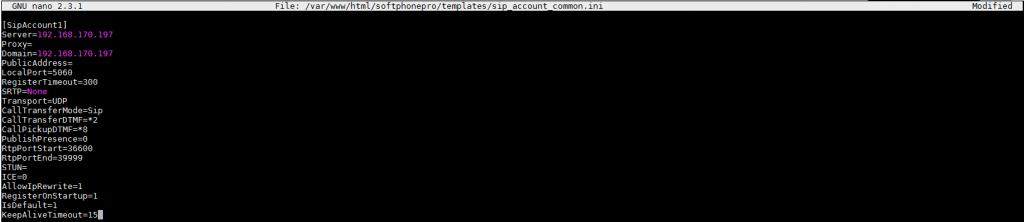 Настройка базового конфигурационного файла sip_account_common.ini