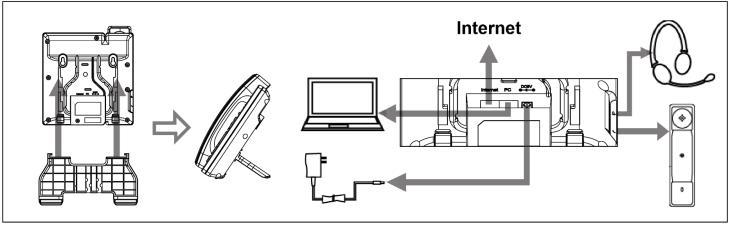 Схема подключения телефона