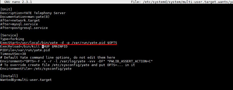 Создание unit systemctl сервиса в CentOS 7