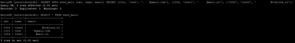 Таблица send_mail