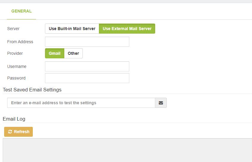 Подключение почтового сервера