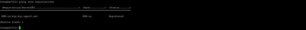 Интерфейс Asterisk CLI
