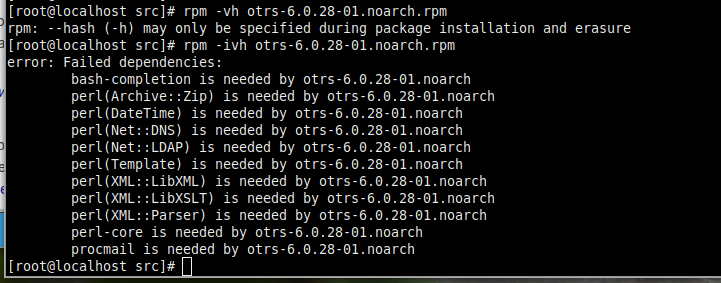 RPM dependencies error - VoxLink
