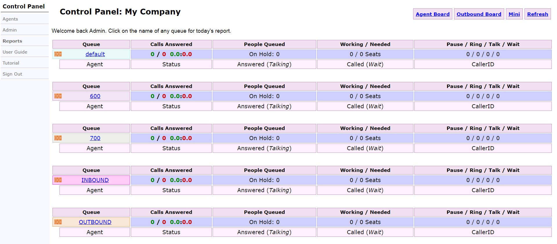 Панель управления OrderlyStats